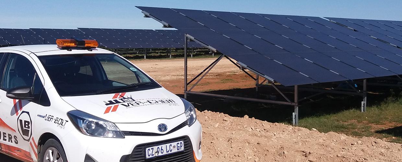 Solar Energy Slider Banner